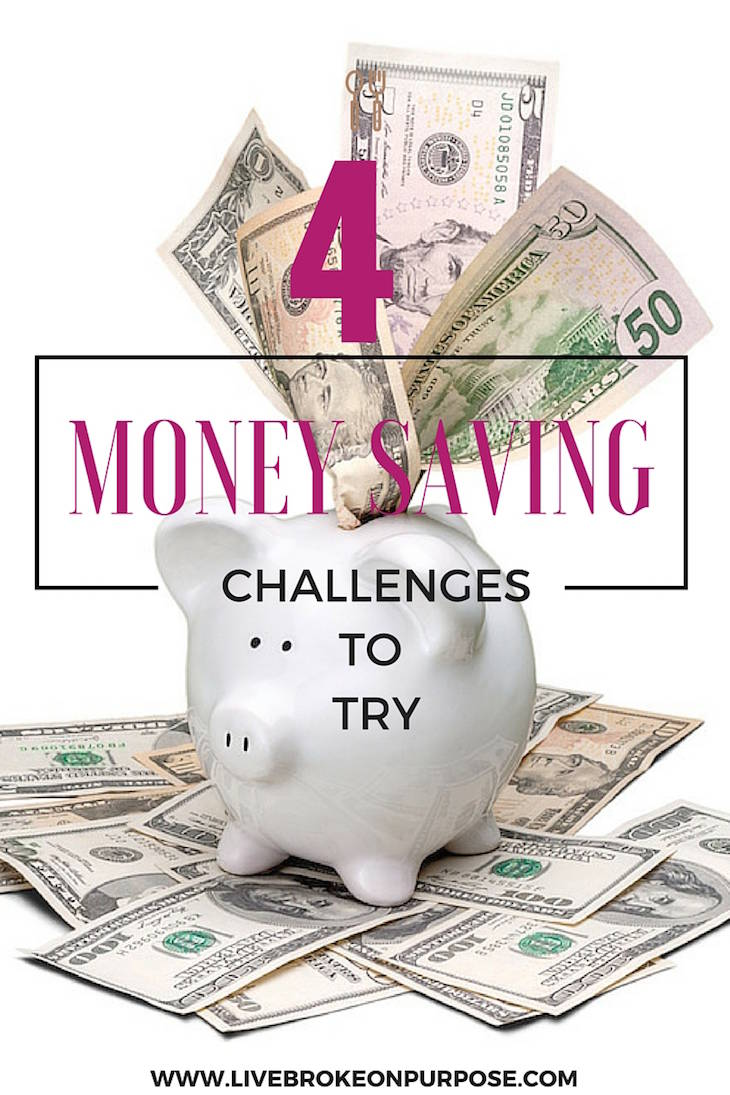 Four Money Challenges to Try this Year Broke On Purpose – Money Challenge Worksheets