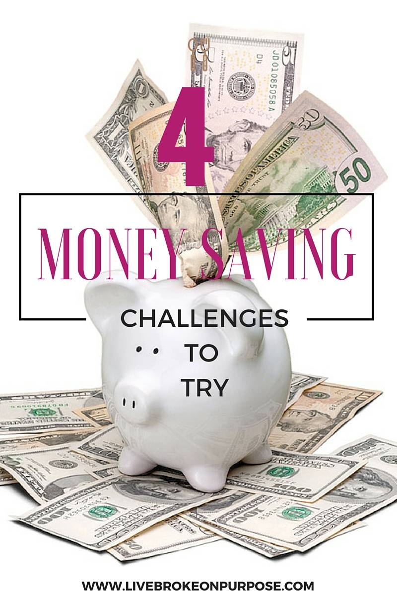 Four money challenges you should try this year.
