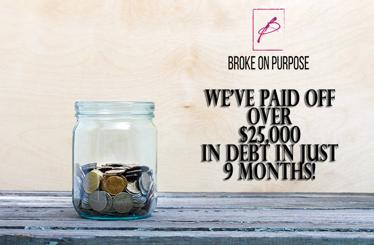 November 2015 Debt Payoff Report | Broke on Purpose