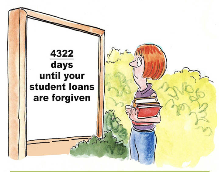 The ugly truth about student loan forgiveness programs. | www.livebrokeonpurpose.com| Broke on Purpose