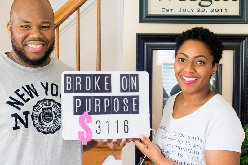 Broke on Purpose March 2016 Debt Payoff Report