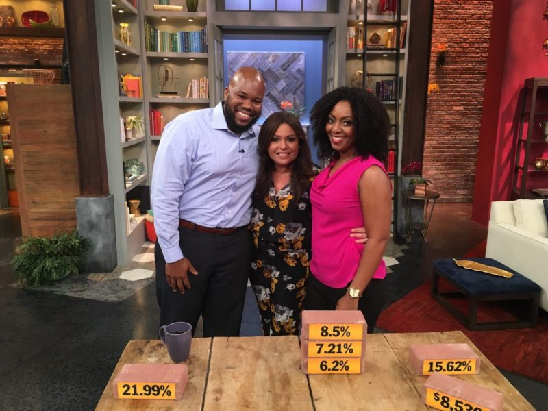 Broke on Purpose on the Rachael Ray Show