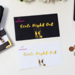 Broke on Purpose Money Envelope Girls Night Out www.livebrokeonpurpose.com