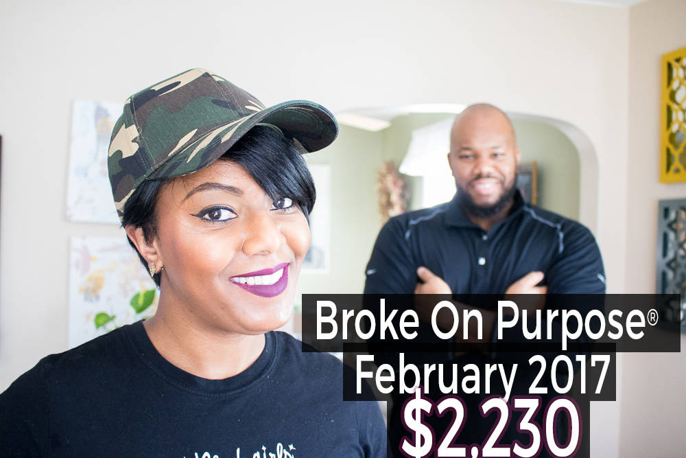 Broke on Purpose February 2017 Debt Payoff Report